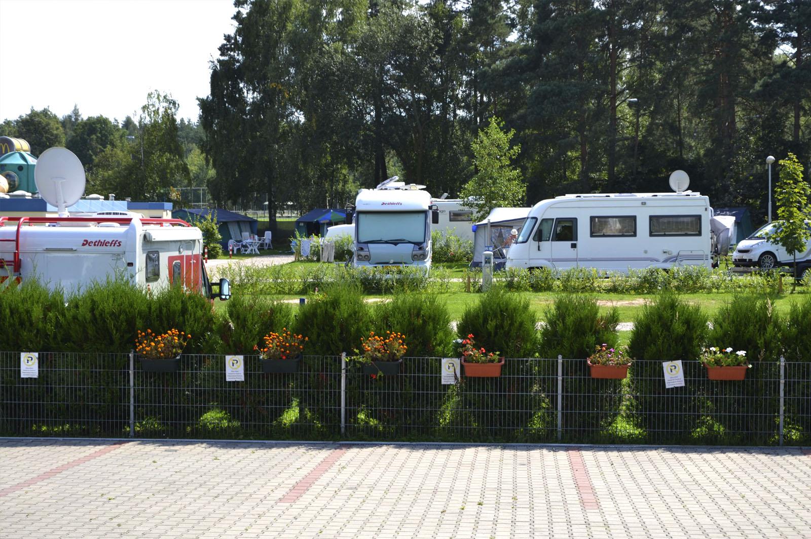 Camping Praha Klánovice - Camping