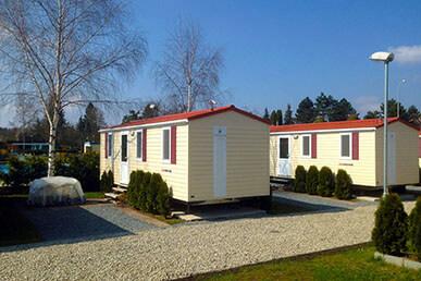 Camping Praha Klánovice - mobilní dům FAMILY