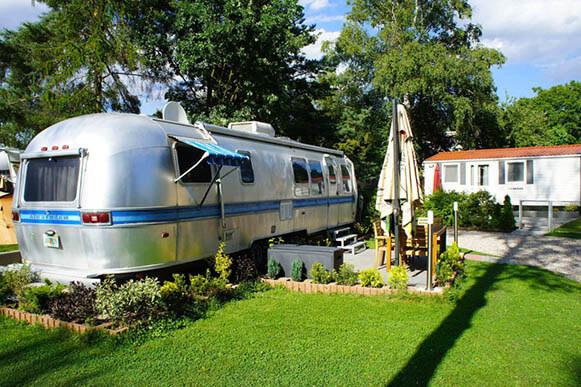 Camping Praha Klánovice Airstream