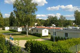 Camping Praha Klánovice - mobilní dům FIDJI